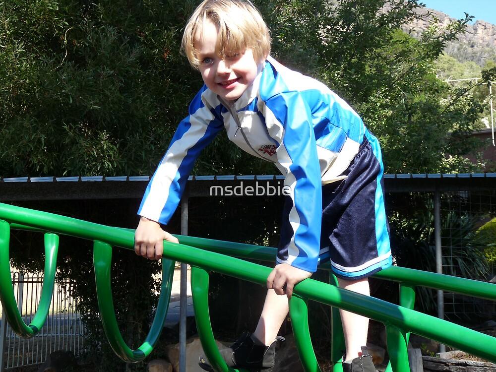 Happy climber by msdebbie