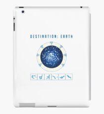 Earth destination gate iPad Case/Skin