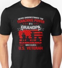 6dfc2f935 Cool Gift Tee For Veteran. Costume For Grandpa Father s Day. Unisex T-Shirt
