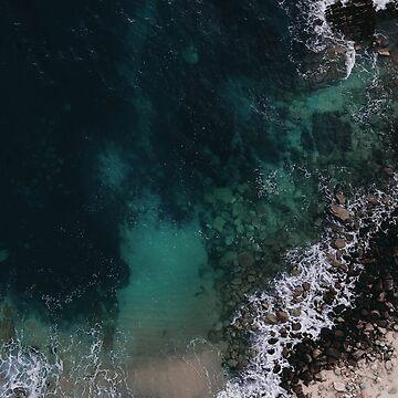 Ocean Blues I by Ingz