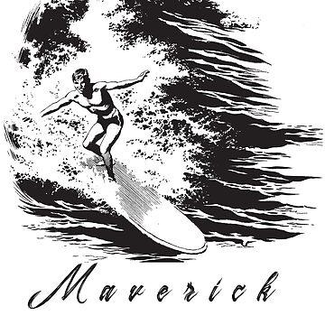 Surf Maverick (All Over Back) by AngelaFV
