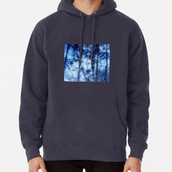 Dont be afraid of your blue mind Pullover Hoodie