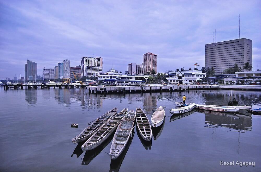 Manila Long Boats by Rexel Agapay