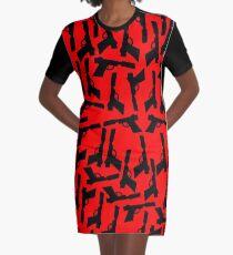 Vestido camiseta Liquidator (rojo)