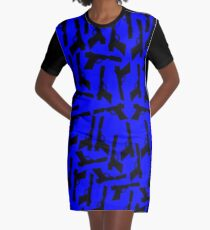 Vestido camiseta Liquidator (azul)