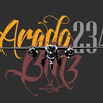 Arado 234 Blitz by siege103