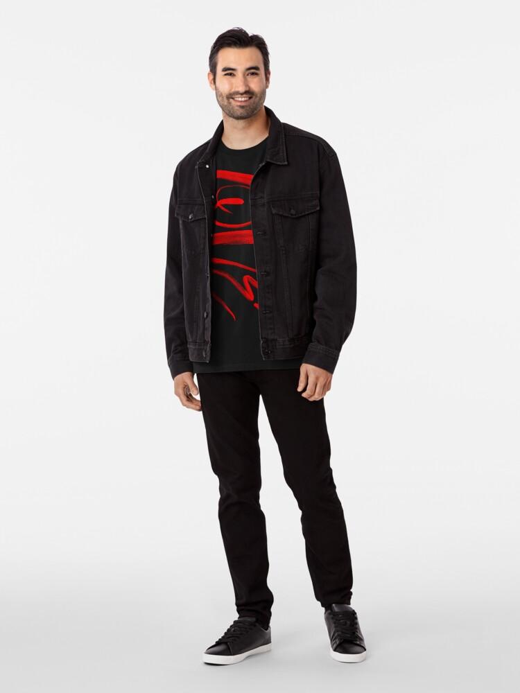 Alternate view of Red Love Premium T-Shirt