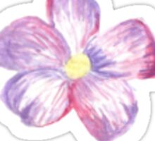 Watercolor Flower Sticker