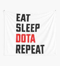Eat, Sleep, Dota, Repeat - Eat Sleep Repeat - Dota 2 Wall Tapestry