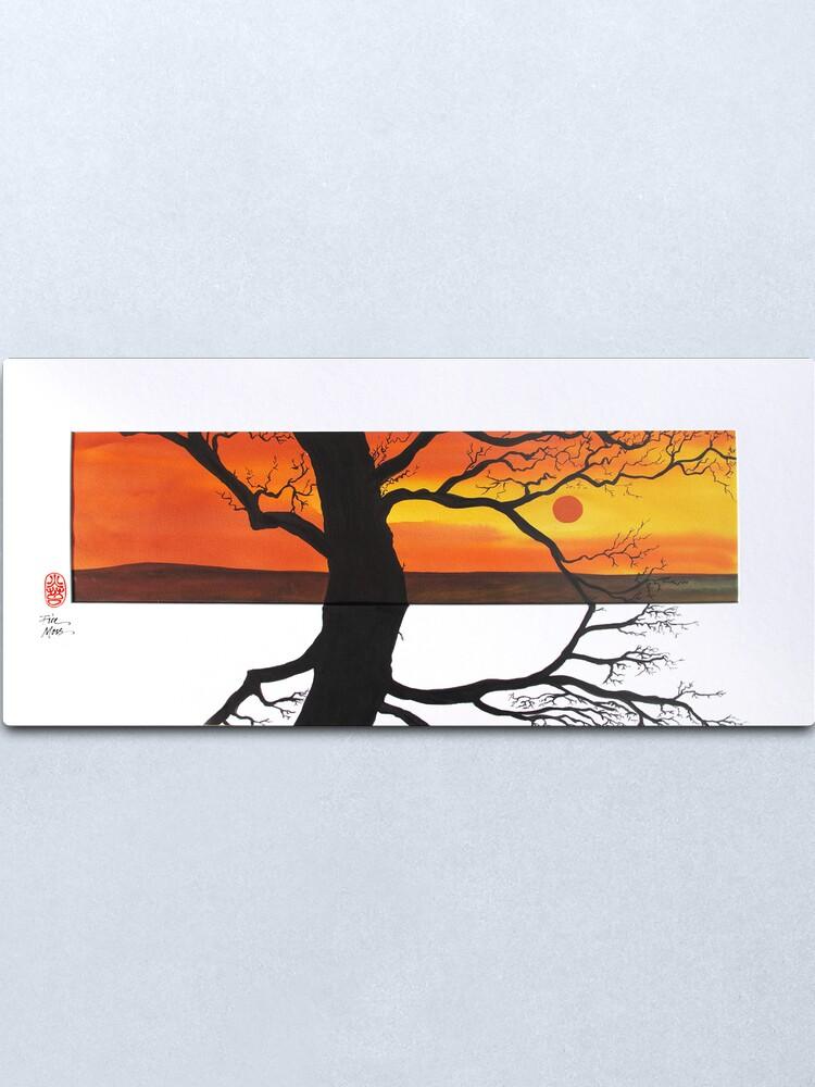 Alternate view of Sunset Shadows Metal Print