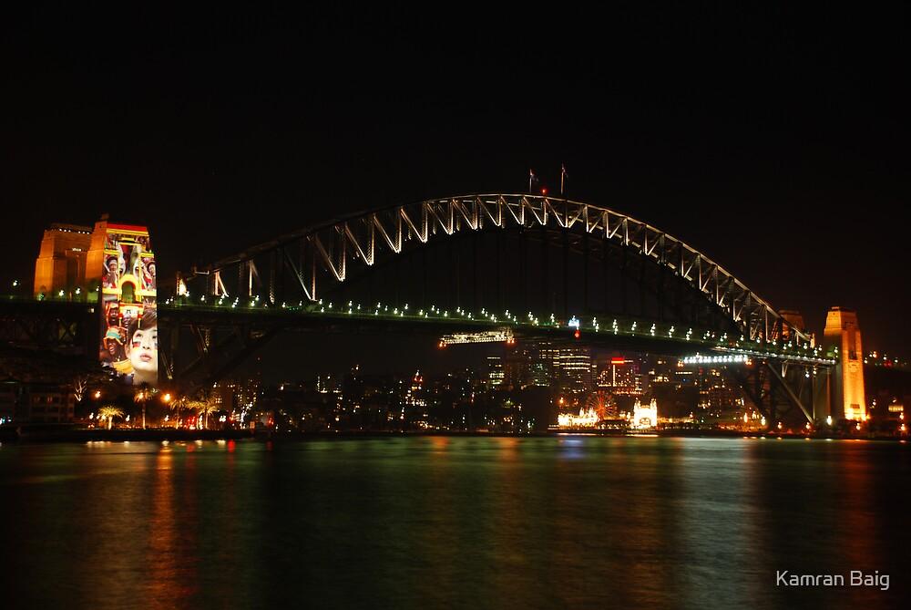 Sydney Harbour Bridge Pylon by Kamran Baig