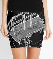 Haç Axonometric (black version) Mini Skirt