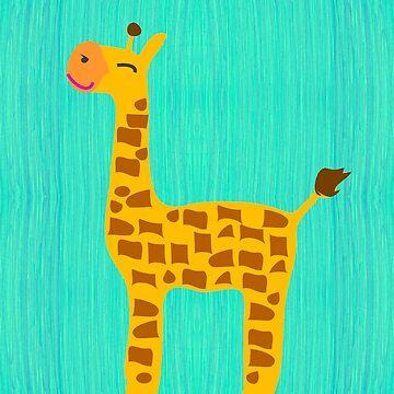 giraffe by Sancreoto
