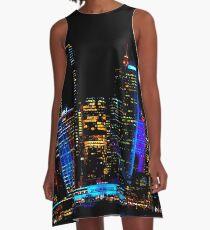 THE VIVID CITY | 2018 SYDNEY VIVID FESTIVAL | A-Line Dress
