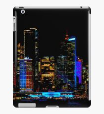 THE VIVID CITY | 2018 SYDNEY VIVID FESTIVAL | iPad Case/Skin