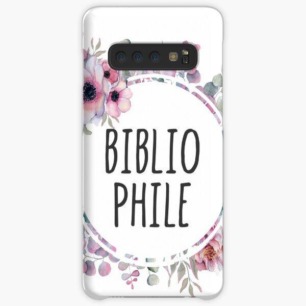 Bibliophile - Floral Design Samsung Galaxy Snap Case