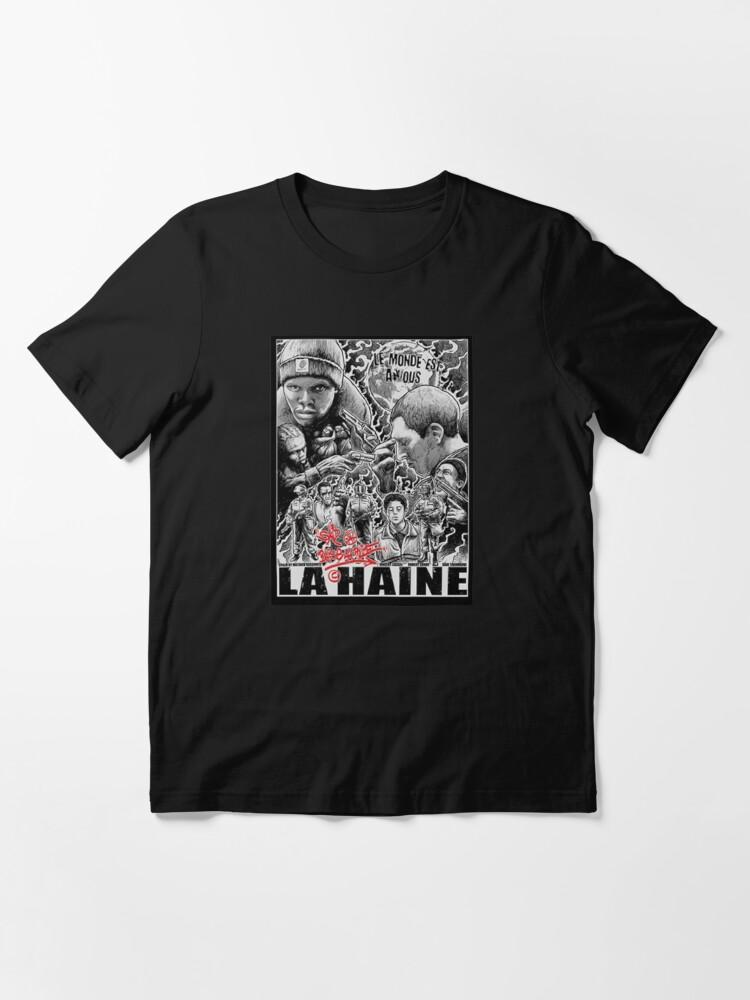 Alternate view of la haine police acab urban french film urban Essential T-Shirt