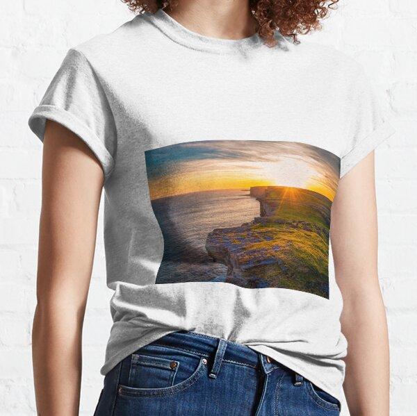Ireland Sunset over Dun Aengus Classic T-Shirt