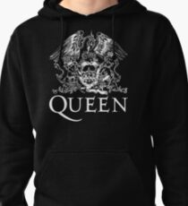 Queen Band Royal Crest Logo Pullover Hoodie