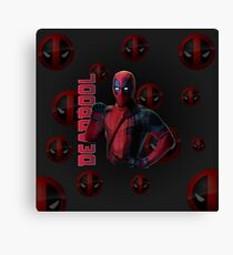 red hero Canvas Print