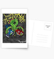 Rayquaza, Kyogre, & Groudon - Hoenn Remake Ahoy! Postcards
