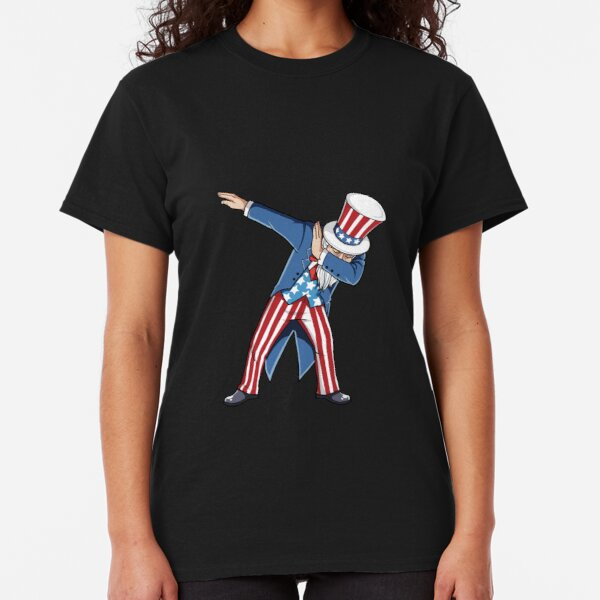 Stylish Shop Dabbing Uncle Sam Independence Kids Boys Toddler Juvenile Sweatshirt