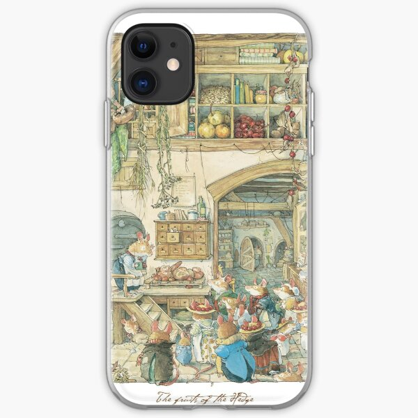 The fruits of the hedge iPhone Soft Case