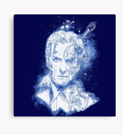 searching for gallifrey desperatly Canvas Print