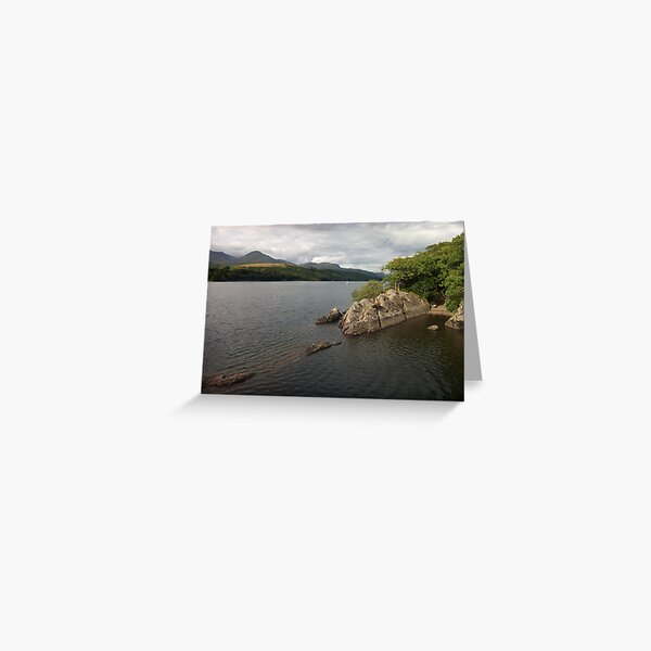 The Secret Harbour - Peel Island - Swallows and Amazons Greeting Card