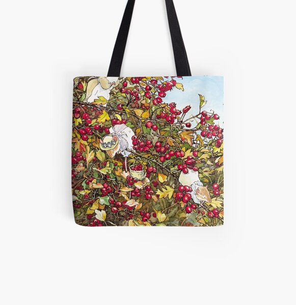 The Blackthorn Bush All Over Print Tote Bag