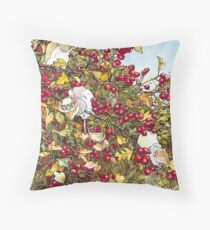 The Blackthorn Bush Throw Pillow