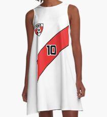 Peru Soccer Jersey Shirt Futbol A-Line Dress