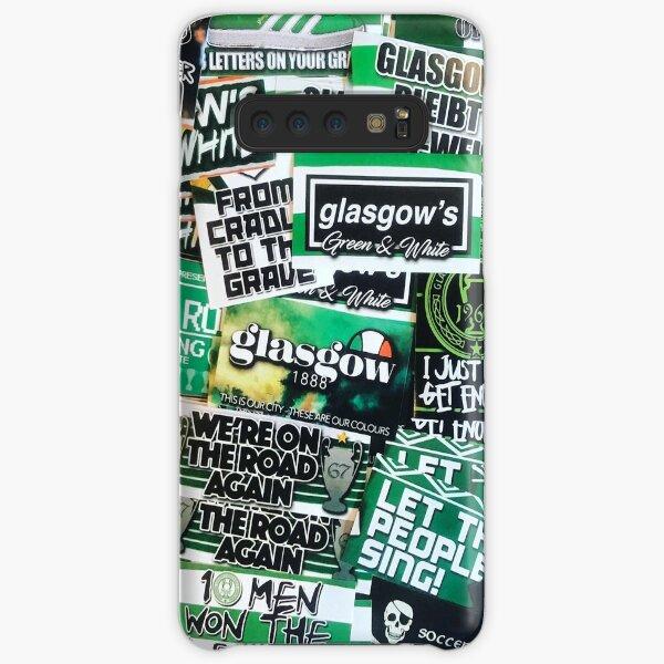 Glasgow Celtic - Green & White - GLSGOW -The Fields of Athenrye -GCFC ULTRAS 100+ Stickers Samsung Galaxy Snap Case