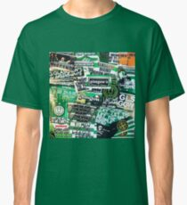 Glasgow Celtic - Green & White - GLSGOW -The Fields of Athenrye -GCFC ULTRAS 100+ Stickers Classic T-Shirt