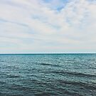 Der blaue Sommersee von alexlikeart1