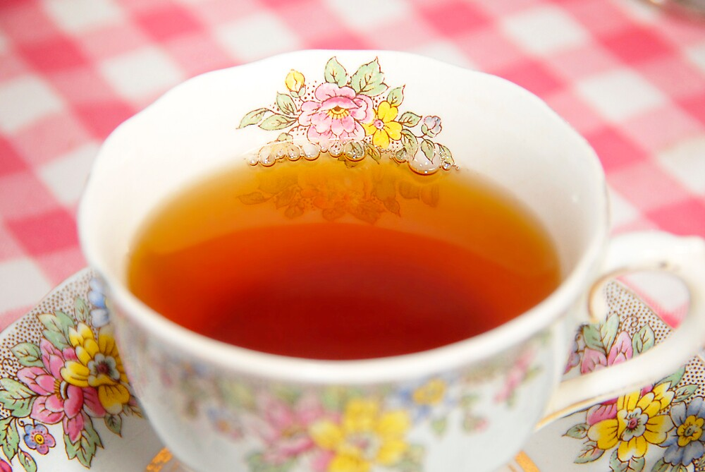 Rose Tea by Hannah Millerick