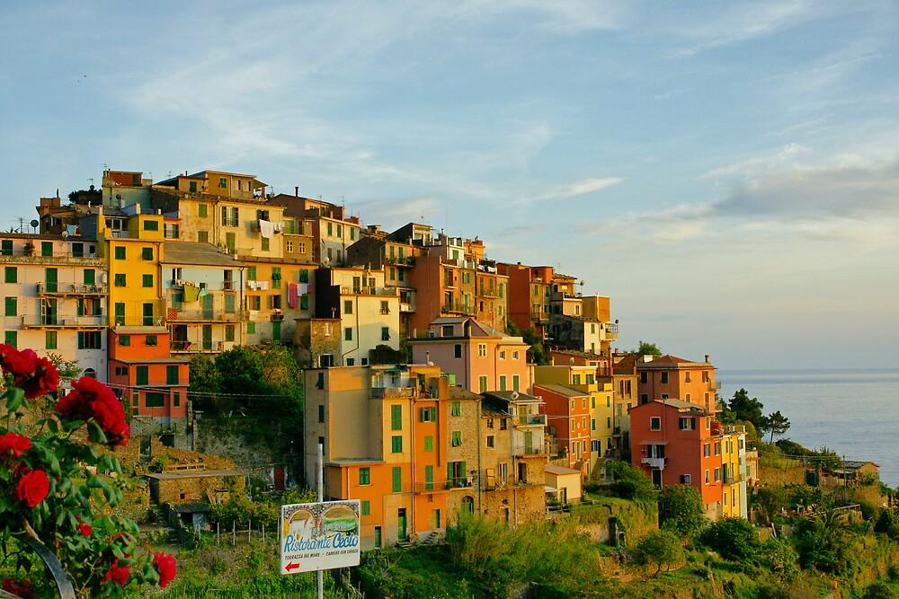 Corniglia Evening, Cinque Terre by Harry Oldmeadow