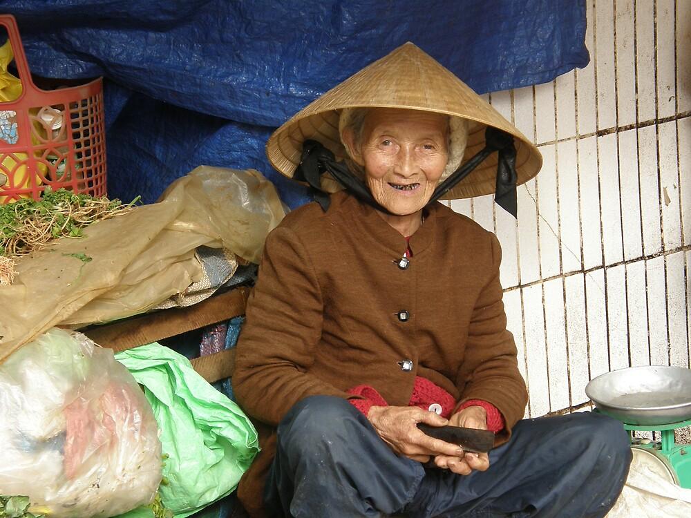 Market Lady Vietnam by raymoore6160