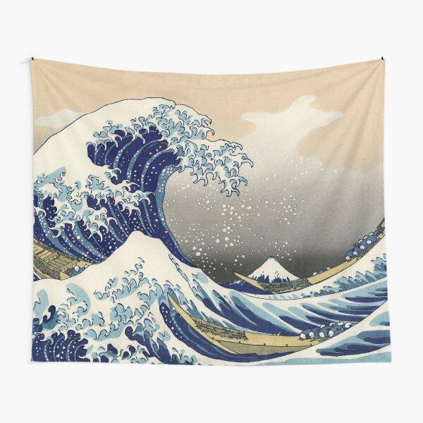 The Great Wave of Kanagawa Tapestry