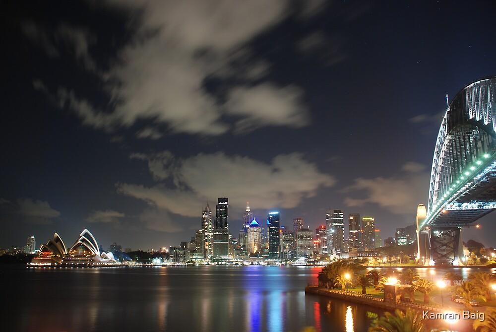 Sydney Opera House-  Sydney Harbour Bridge Australia by Kamran Baig