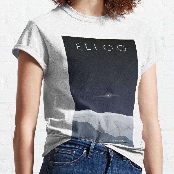 aunque es mi opinión personal que parecería más atractivo como un póster. Camiseta clásica
