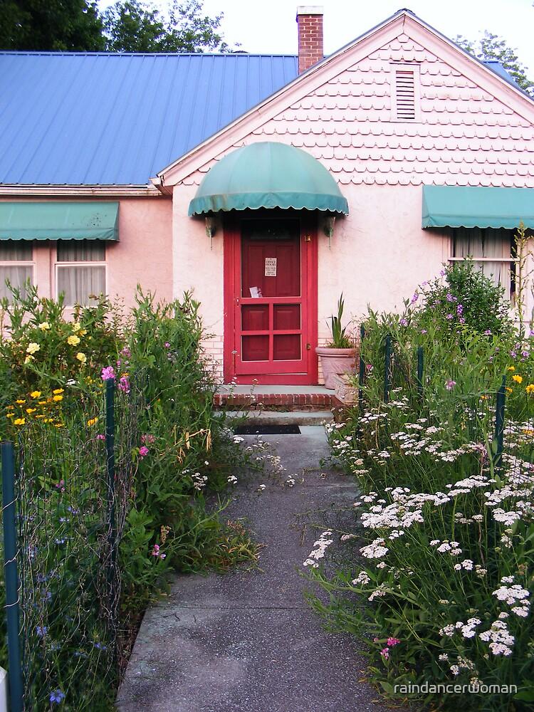 Little pink houses... by raindancerwoman