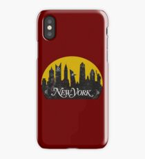 New York (The Cities of Comics) iPhone Case/Skin