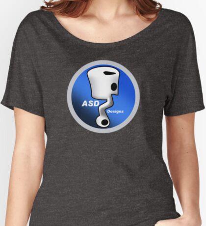 ASD Blue Logo Women's Relaxed Fit T-Shirt