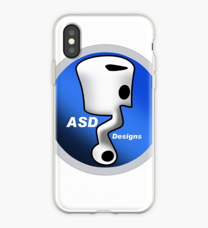 ASD Blue Logo iPhone Case