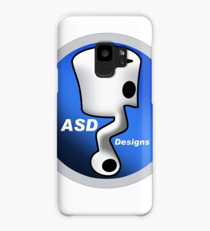 ASD Blue Logo Case/Skin for Samsung Galaxy