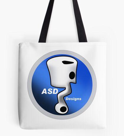 ASD Blue Logo Tote Bag