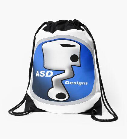 ASD Blue Logo Drawstring Bag