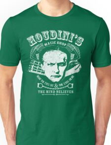 Houdini's Magic Shop (White) Unisex T-Shirt