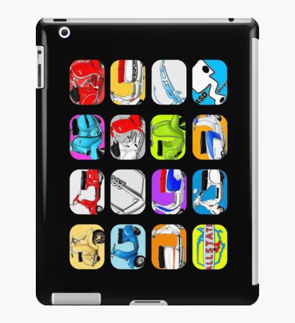 Scooter T-shirts Art: Vintage scooter cube illustration iPad Case/Skin